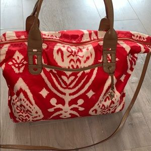 Stella & Dot CarryAll Tote w/ removable crossbody